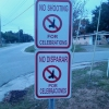 Ghetto street signs