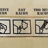 How do you stop the bacon?