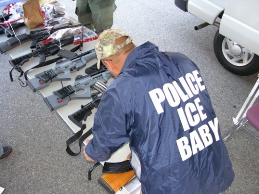 Police ice baby