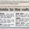 Guide to cults