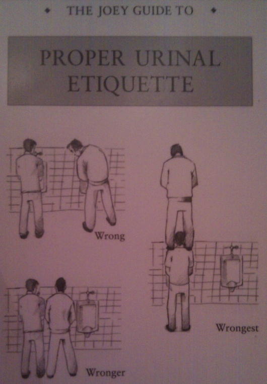Proper Urinal Etiquette Really Funny Pictures Collection