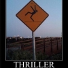 Thriller sign
