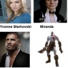 Actors for video game characters