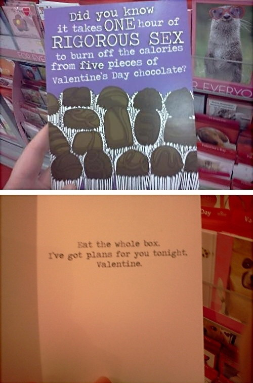 Epic Valentine's Day card