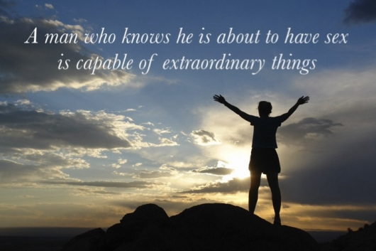 Men are capable of extraordinary things