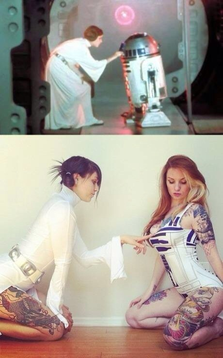 Star Wars reenactment