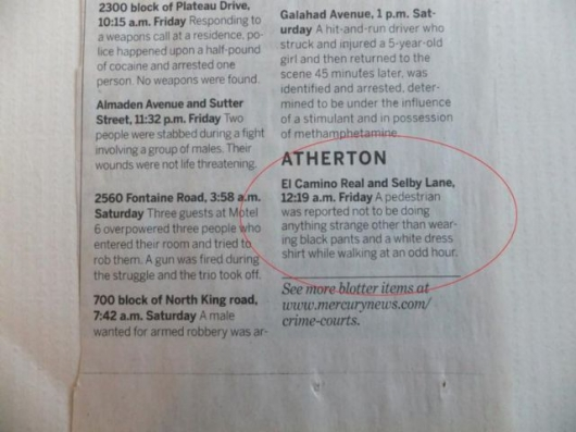 The strange things in the Atherton police blotter - Picture 6
