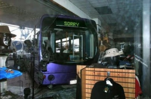 Bus is sorry