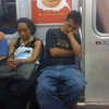 Dreaming on the subway