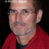 Steve Jobs - red scarf