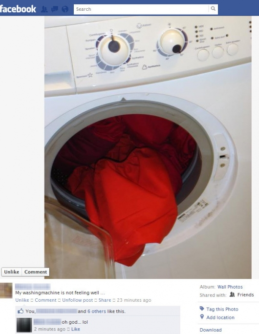 well for washing machine