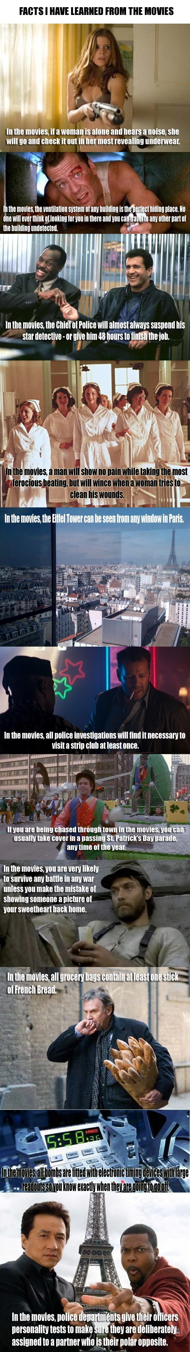 Facts I learned from the movies - Really funny pictures ... - photo#47
