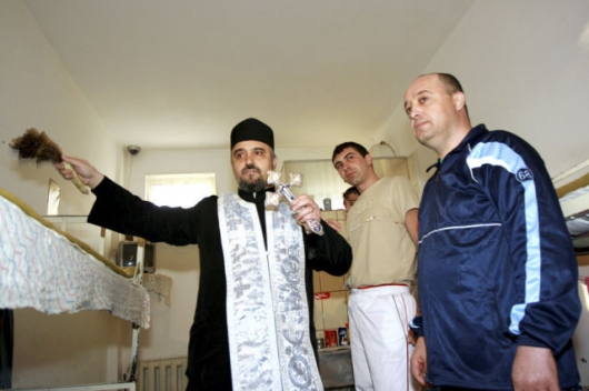 Romanian priests blessing all kinds of things - Picture 10