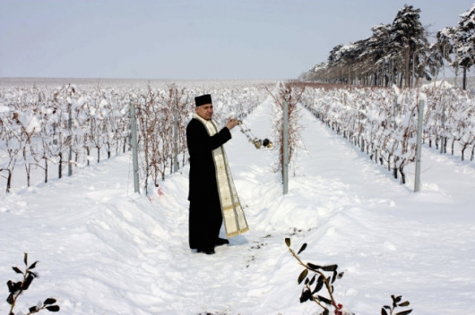 Romanian priests blessing all kinds of things - Picture 12