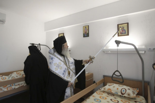 Romanian priests blessing all kinds of things - Picture 15