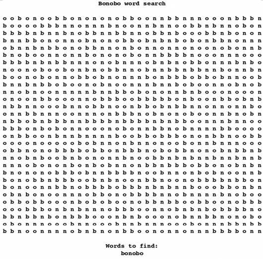 Terrible word search - Picture 0