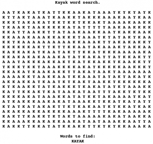 Terrible word search - Picture 1