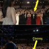 Clooney at the Oscars