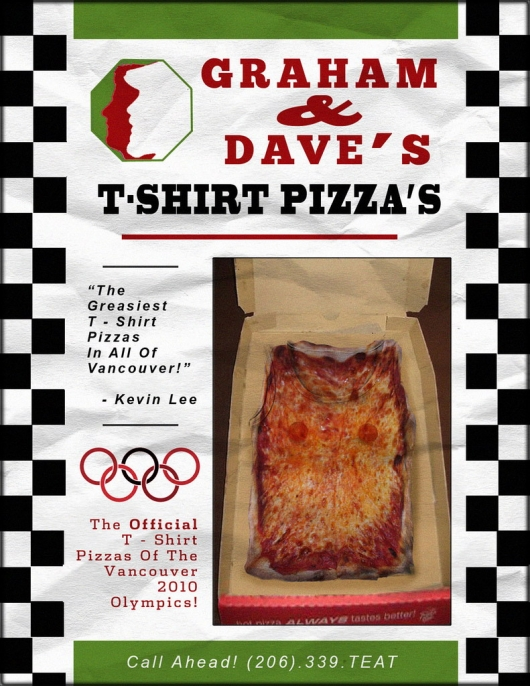T-shirt pizza