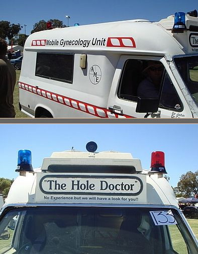 The hole doctor
