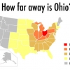 How far is ohio