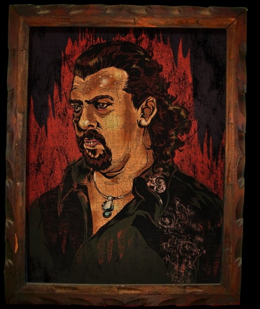 Kenny Powers painting