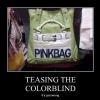 Teasing the colorblind