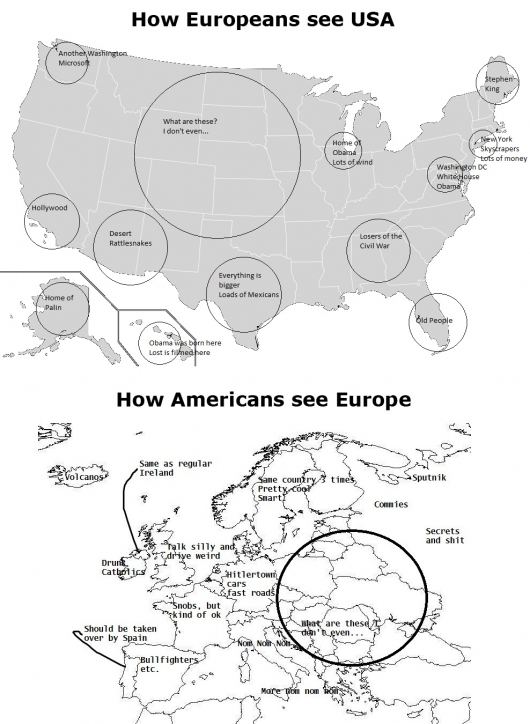 Europeans vs Americans