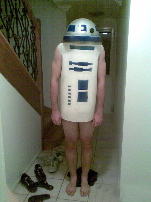 R2D2 cosplay