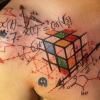 Awesome geek tattoo