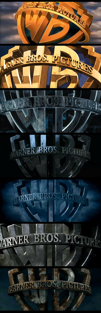 Evolution of the Warner Bros. logo in Harry Potter