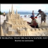 I'm making that beach a sandcastle