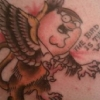 Peter Griffin - The Bird is the word tattoo