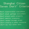 Shanghai citizen
