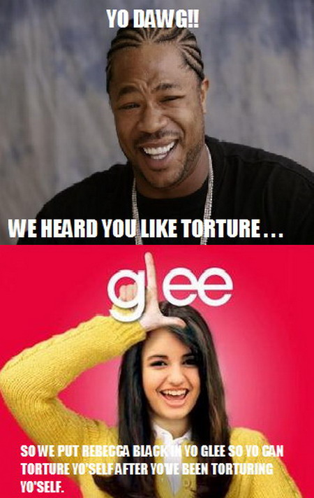 Yo Dawg Glee Friday