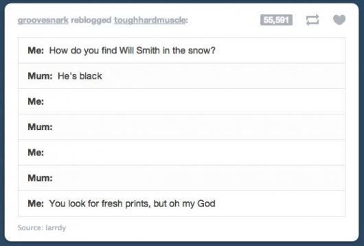 How do you find Will Smith in the snow?