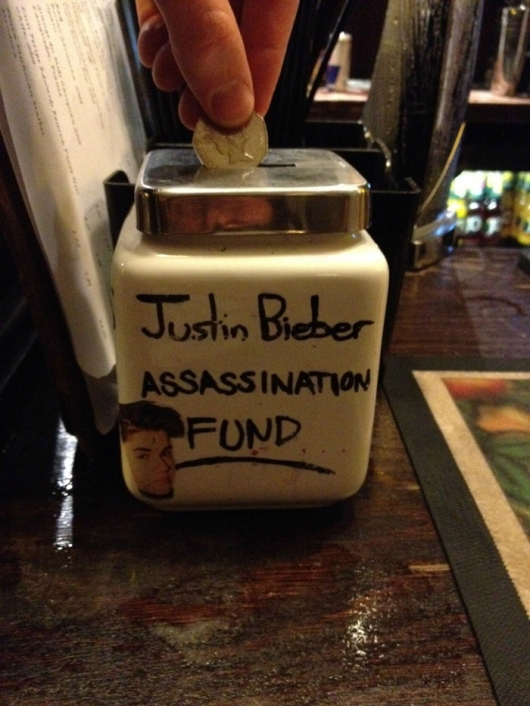 Justin Bieber assassination fund