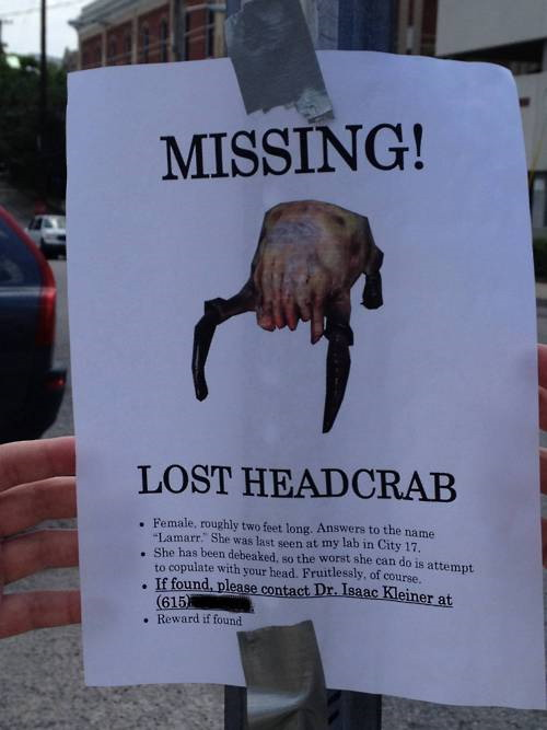 missing headcrab   really funny pictures collection on picshag