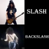 Slash and backslash