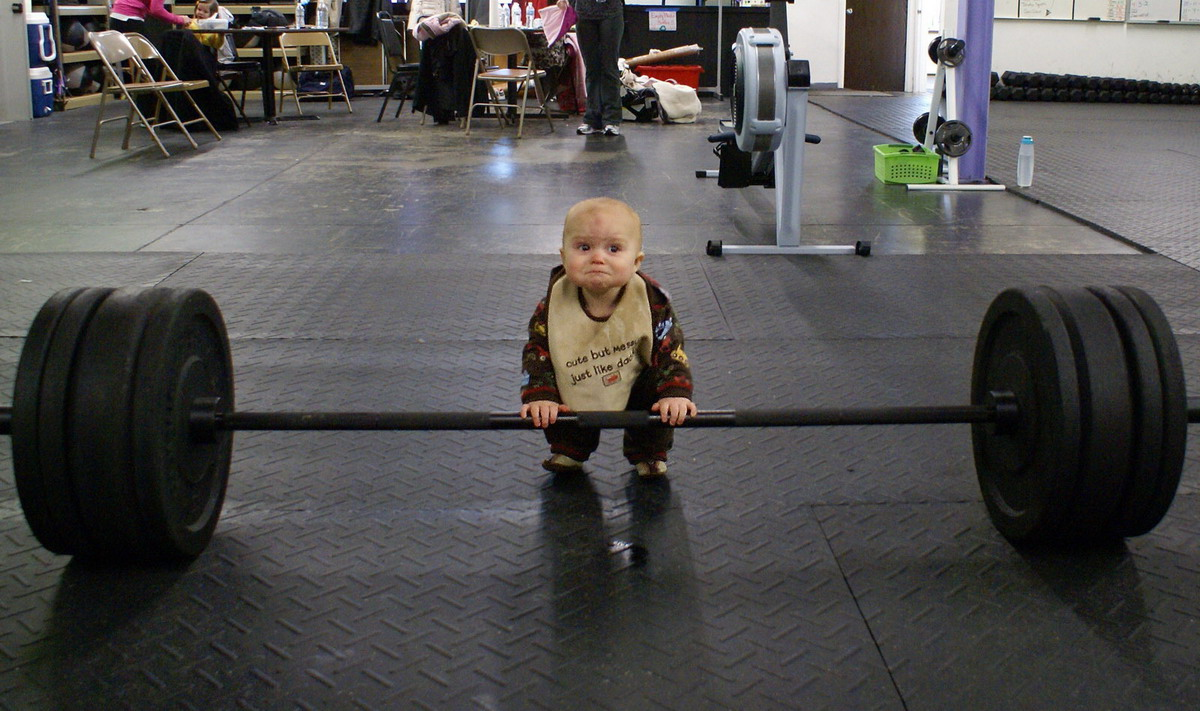 Baby weight lifter - Really funny pictures collection on ...