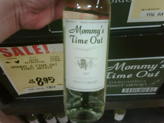 Mommy's time-out wine