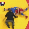 Thorough wrestling referee