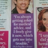Patrick Dempsey is giving medical advice
