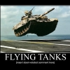 Flying tanks