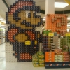 Grocery store Mario soda art