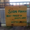 Sign maker ad