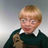 Kid with Buscemi eyes