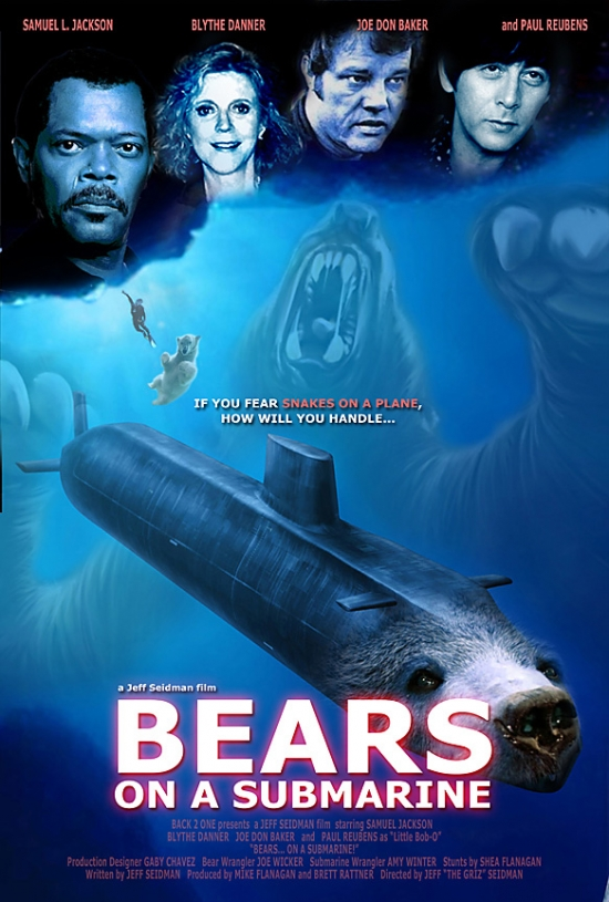 bears on a submarine   really funny pictures collection on