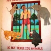 Do not tease zoo animals