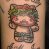 Fanatic Hello Kitty tattoo